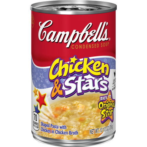 Campbell's Condensed Chicken & Stars Soup, 10.5 oz.
