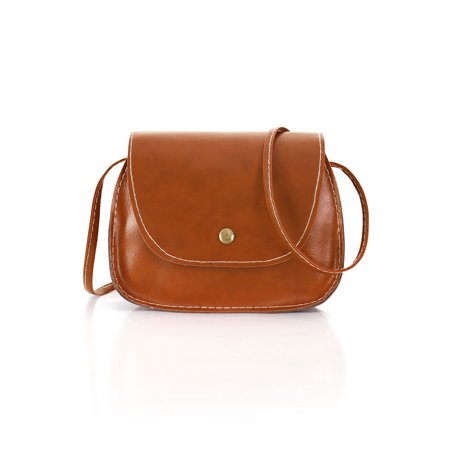Unique Bargains Women's Semi-Circle Saddle Bag Candy Purse Pouch Crossbody - Candy Purses