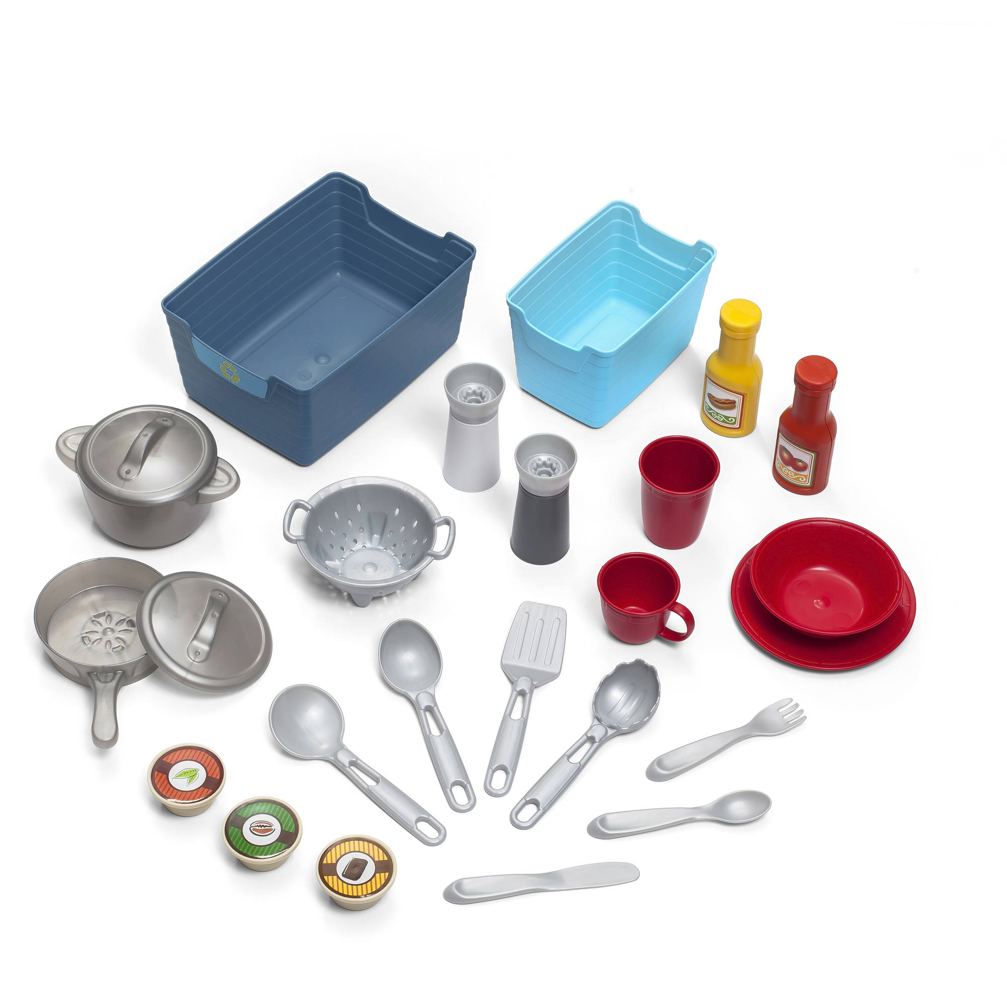 Step2 Contemporary Chef Kitchen, 20-piece accessory set included ...