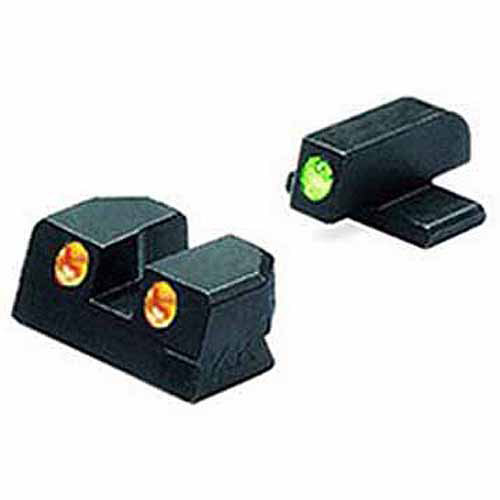 Mako Group Springfield Tru-Dot Sights XD, .45 ACP, Green/Orange Fixed Set