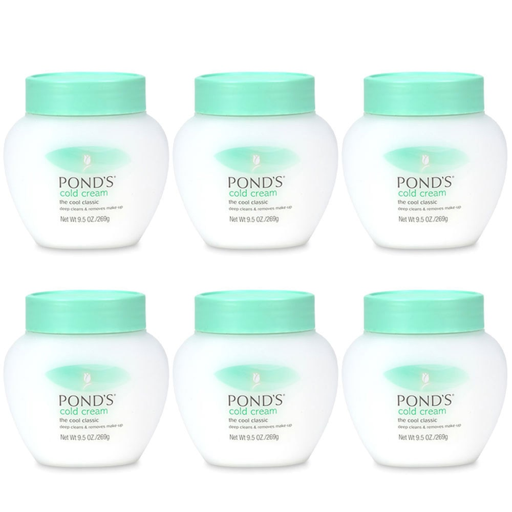 Pond's Pond 9.5-ounce Cold Cream Cleanser (Pack of 6)
