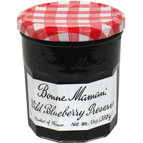 Bonne Maman Wild Blueberry Preserves, 13 oz (Pack of 6)