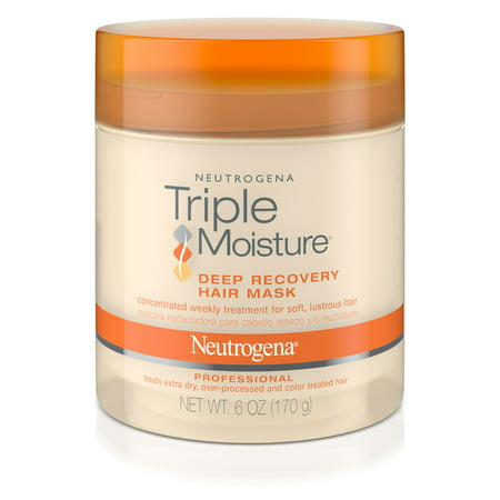 Essential Damage Care - Neutrogena Triple Moisture Deep Recovery Hair Mask Moisturizer For Dry Hair, 6 Oz.