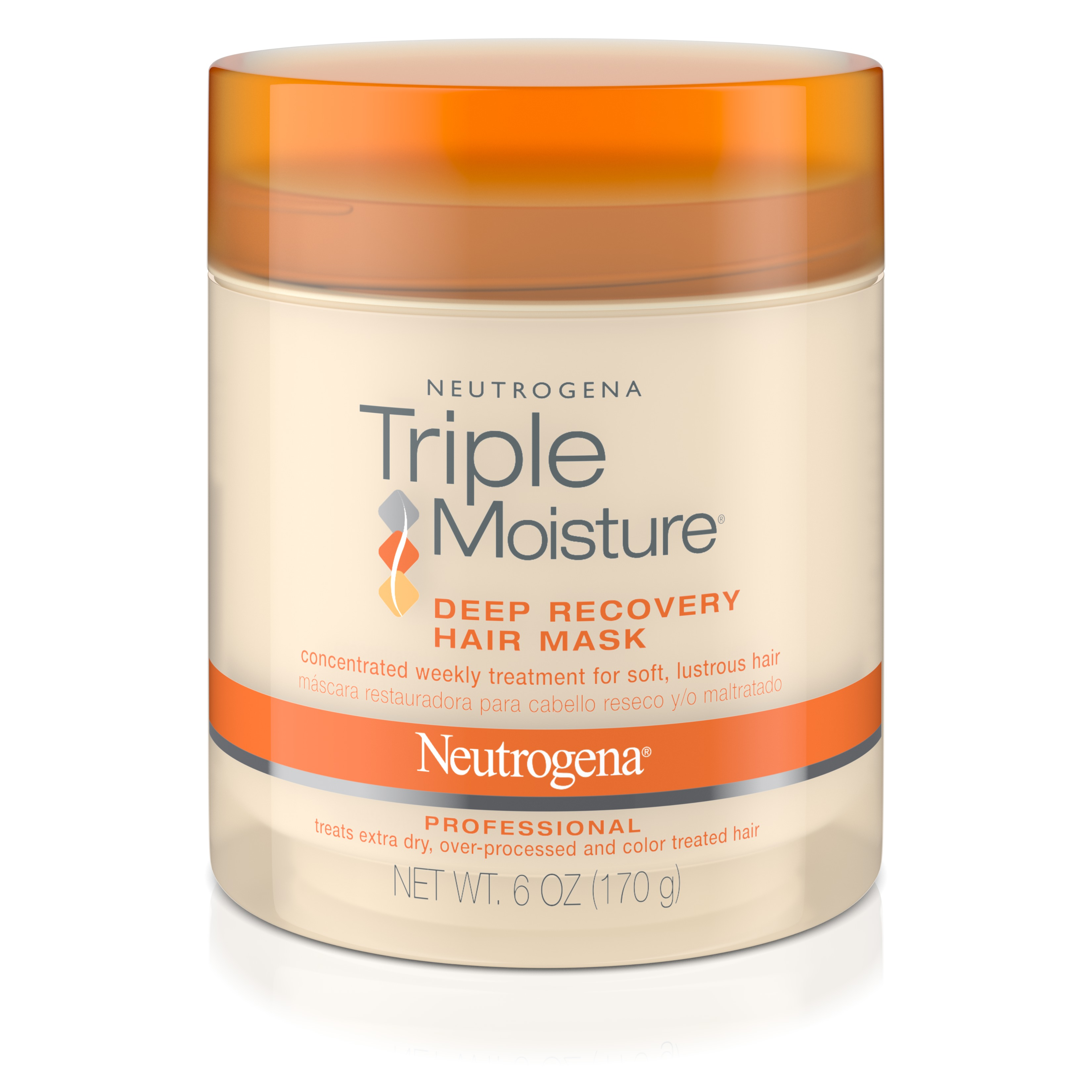 Neutrogena Triple Moisture Deep Recovery Hair Mask Moisturizer, 6 oz