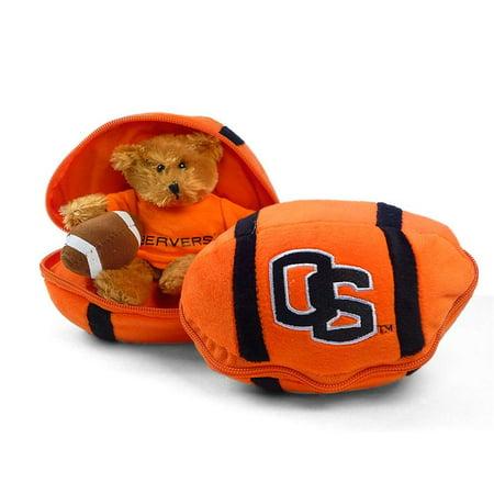 Oregon State Beavers Stuffed Bear In A Ball   Football