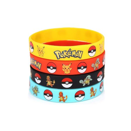 12 Pcs of Pokémon Bracelet. Perfect Gift for Birthday, Party Favor, and Pokemon