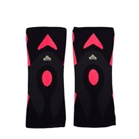 Bear Grips: 3mm Minimalistic Knee Sleeves, contouring design to protect ACL, MCL, PCL, meniscus, & arthritis ideal for weight lifting, WODs, all day use (Red, Medium, Single Sleeve)