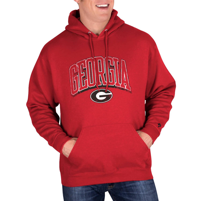 NCAA Georgia Bulldogs Big Mens Classic-Fit Pullover Hood