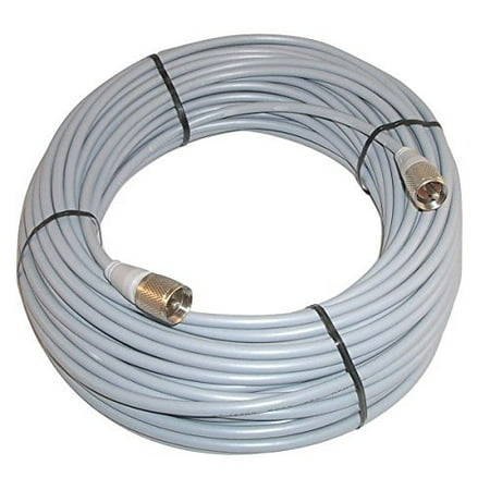 100 ft RG8X COAX CABLE for CB / Ham Radio w/ PL259 Connectors - Workman 8X-100-PL-PL ()