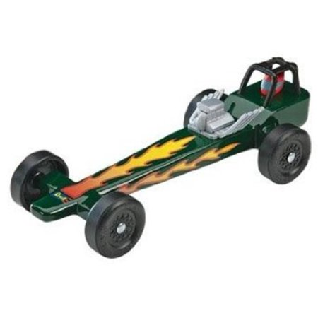 Revell Pinewood Derby Dragster Racer Kit Multi-Colored