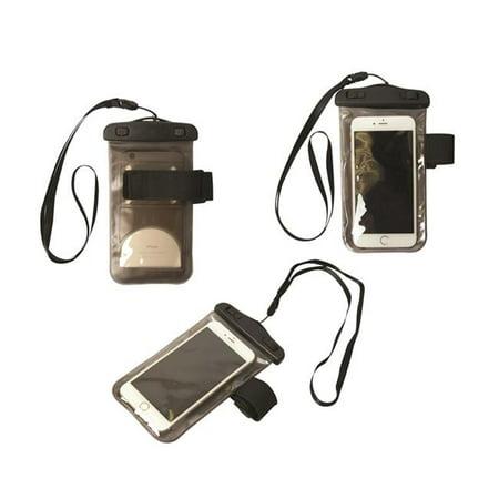 Debco TG9174 Pochette en PVC imperm-able avec brassard noir de Lugano - Paquet de 12 - image 1 de 1