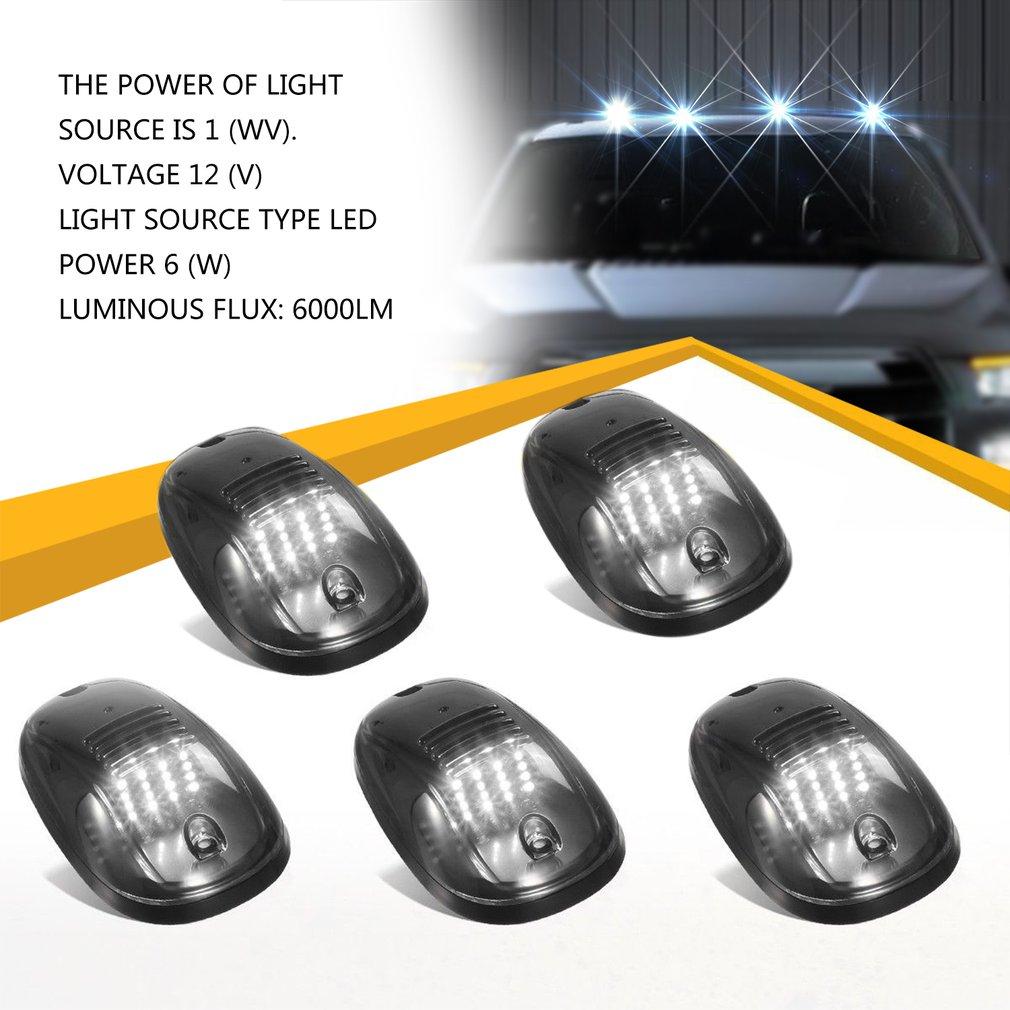 Marker lights 9 LED Truck Side Marker Light Sealed & Waterproof Surface Mounted Marker Light