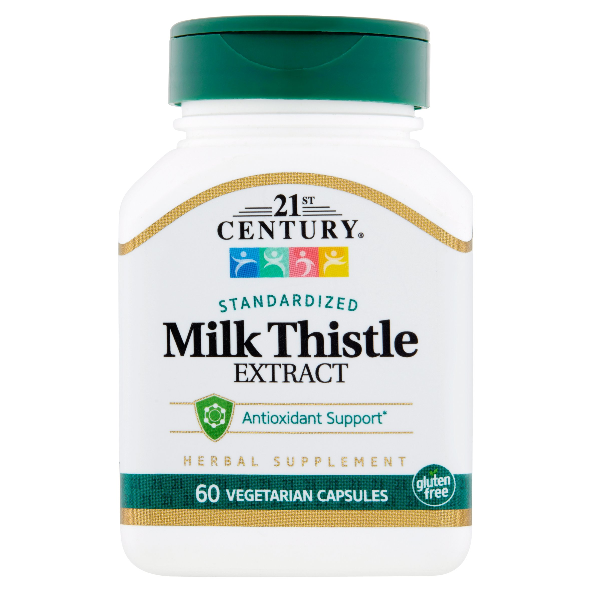 21st Century Milk Thistle Extract 175mg Capsules, 60 Ct