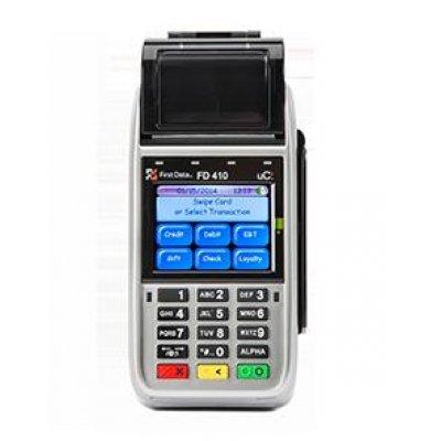 Wireless Credit Card Terminal - First Data FD 410 DW EMV Wireless Credit Card Terminal