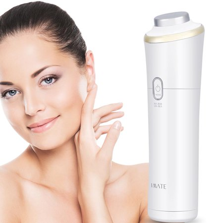 Yosoo Ultrasonic Skin Tightening Facial Toner Temperature Face Massager Pore Cleanser Wrinkle Remover, Anti Aging Machine, Electric Facial (Best Way To Tighten Facial Skin)