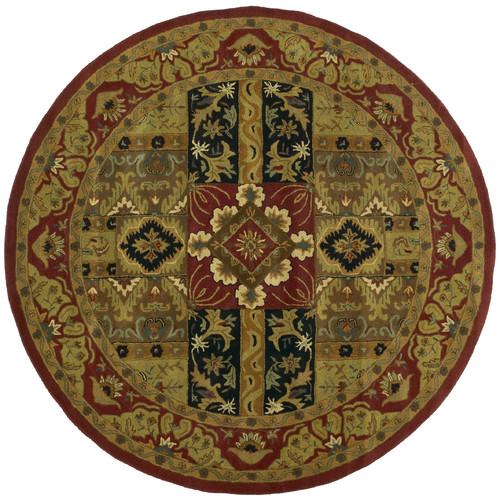 St. Croix Traditions Ashton Olive Rug