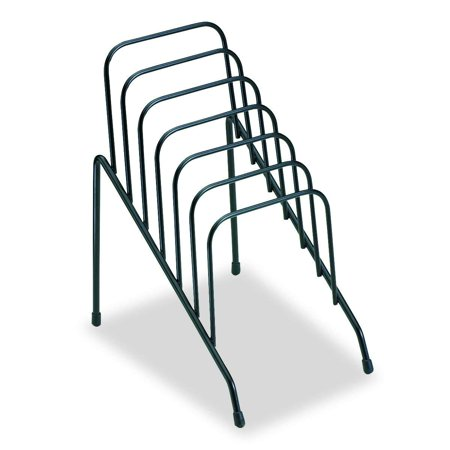 - Step File Junior Wire Organizer Rack, 6 Sections, Black (72613), Ideal for sorting mail, memos and more By Fellowes