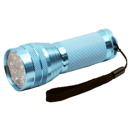 Dorcy 35-Lumen Weather Resistant Glow-In-The-Dark LED Flashlight with Lanyard and Aluminum Construction, Assorted Colors