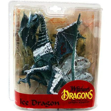 McFarlane McFarlane's Dragons Series 7 Ice Dragon Clan Action Figure (Clan 4 Figure)