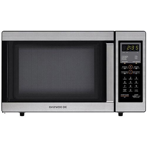 Daewoo .9 cu ft Microwave, Stainless Steel
