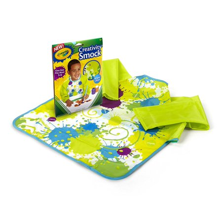 Core Art Smock, Provides protection for skin and clothes By Crayola Ship from -