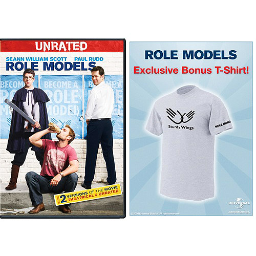 Role Models (Rated / Unrated) (Exclusive) (with T-Shirt) (Widescreen, WALMART EXCLUSIVE)