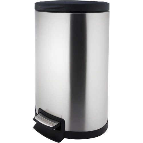 Canopy 45-Liter Half Moon Step Can