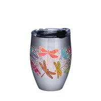 Dragonfly Mandala 12 oz Stainless Steel Tumbler with lid
