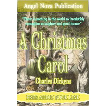 A Christmas Carol : [Illustrations and Free Audio Book Link] - eBook