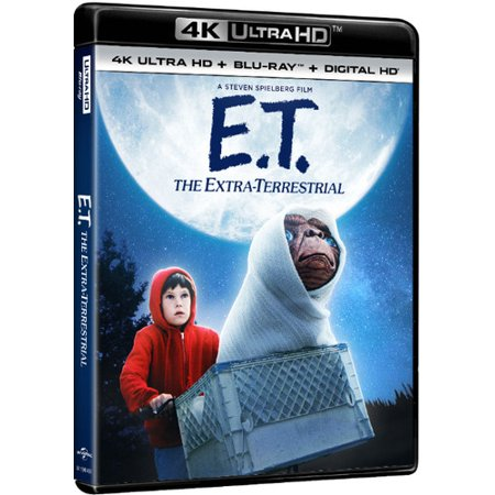 E.T. The Extra-Terrestrial (4K Ultra HD + Blu-ray + Digital Copy)