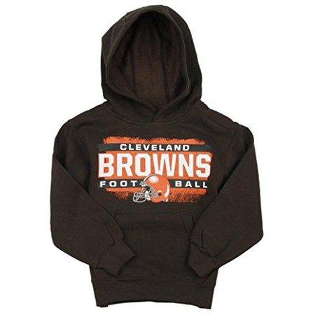 Cleveland Browns NFL Football Kids Boys Promo Fleece Hoodie Sweatshirt, Brown - The Cute Kid Promo Code
