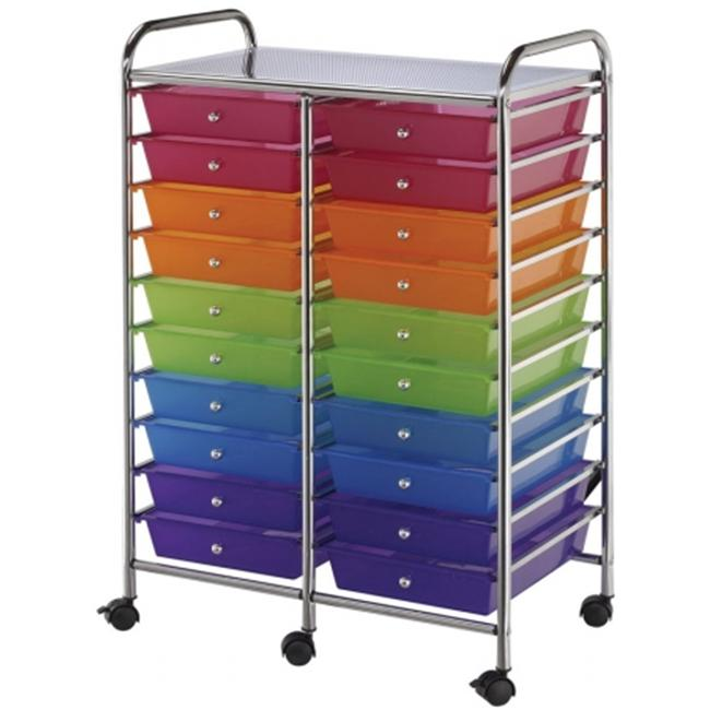 Alvin Sc20Mcdw Blue Hills Studio Storage Cart - Multicolor