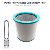 Tower Purifier Filter Activated Carbon Air Purifier HEPA Filter for Dyson Pure Cool TP00 TP02 TP03