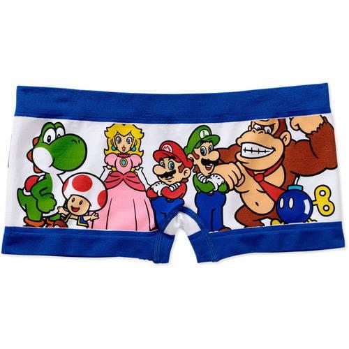 Super Mario Juniors' Seamless Boyshort Panty