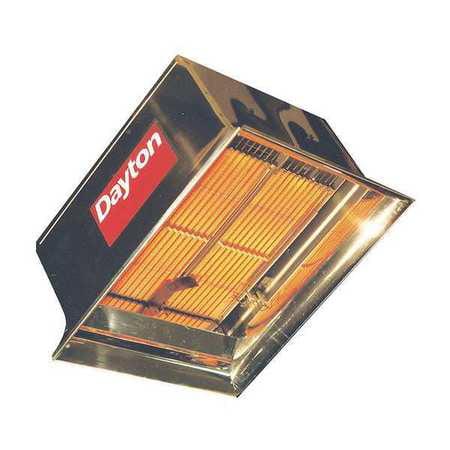 Dayton 3E461 LP Commercial Infrared Heater, 60 ()