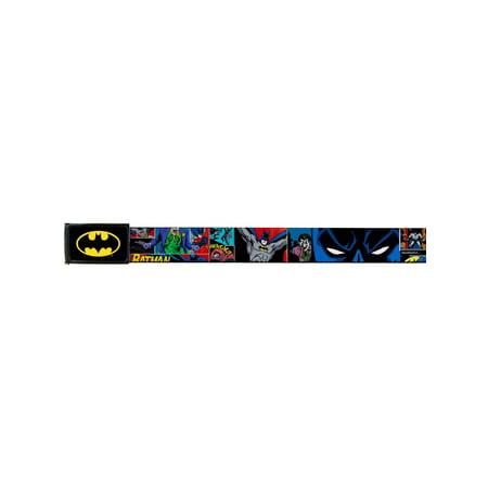 Batman DC Comics Superhero Strip Collage Web Belt