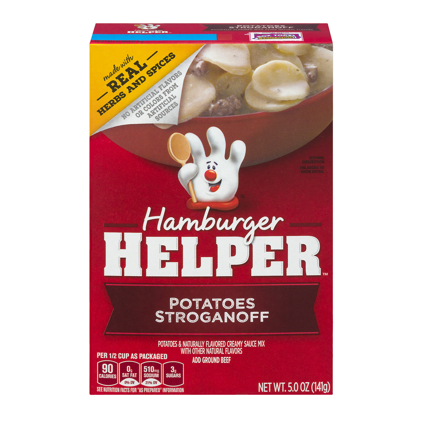 Betty Crocker® Hamburger Helper Potatoes Stroganoff 5 oz Box