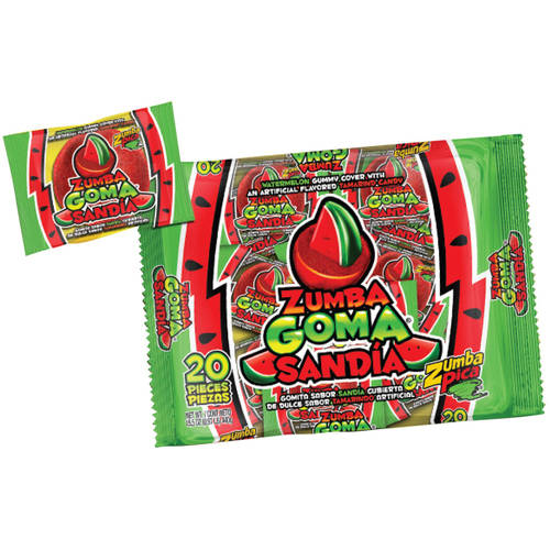 Zumba Goma Sandia Candy, 15.5 oz
