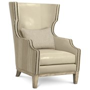 Natural Wing Chair in Ventura Finish