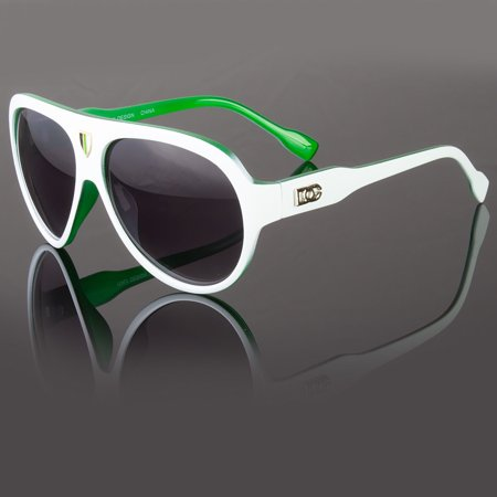 DG Eyewear Mens Designer Shield Classic Pilot Sunglasses Fashion Shades (Men With Shades)