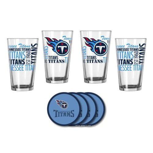 Tennessee Titans Spirit Glassware Gift Set by