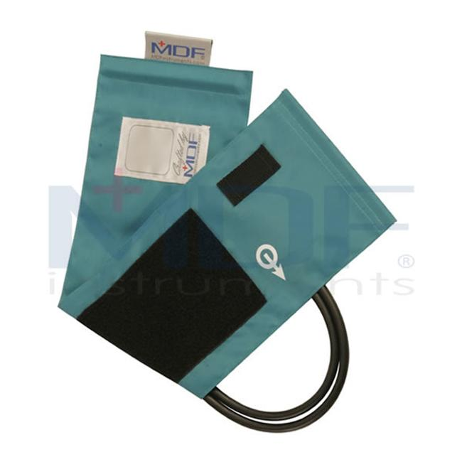 MDF Instruments MDF210045012 Latex-Free Replacement Blood Pressure Cuff - Adult - Double Tube -Grey