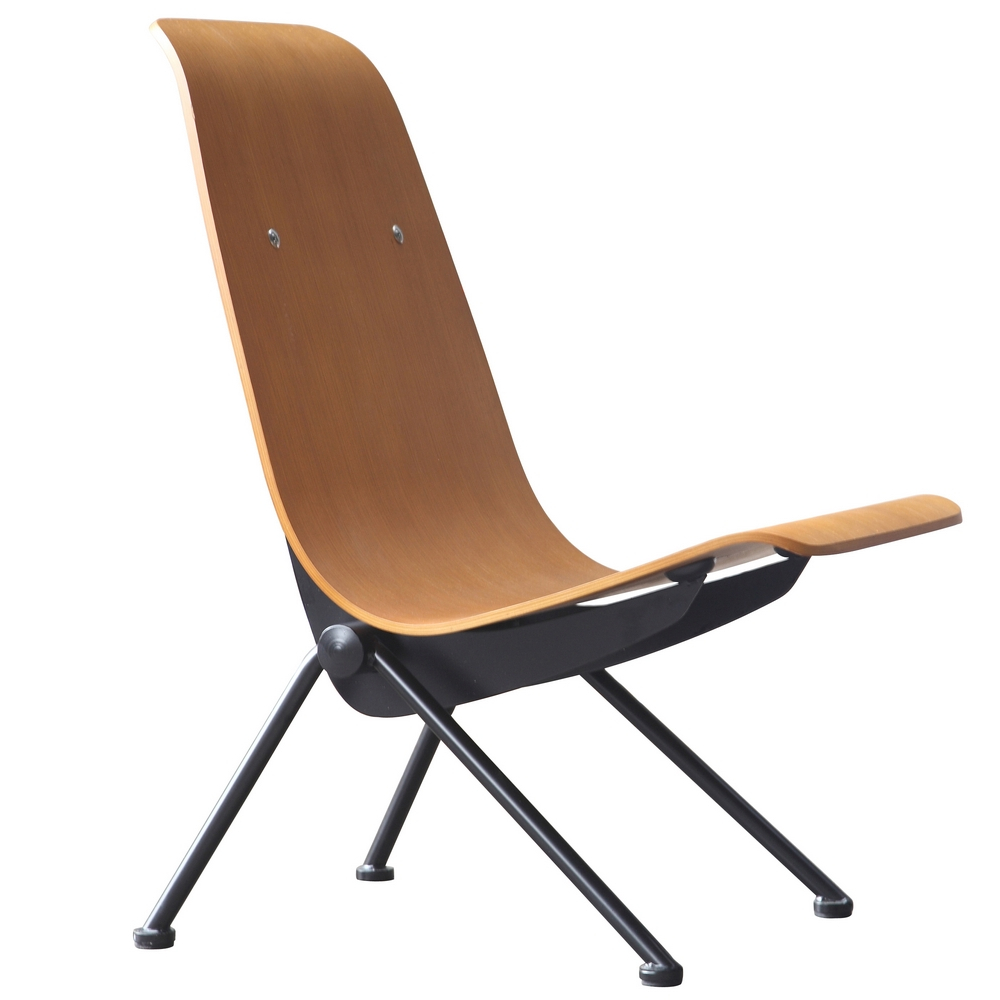 Fine Mod Imports Scolta Dining Side Chair-Finish:Walnut,Style:Contemporary/Modern