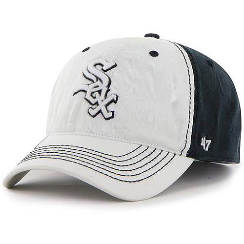 Chicago White Sox '47 Phase One Flex Hat - White/Black - OSFA