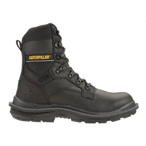 """CAT Footwear Flexion Generator 8-Inch Steel Toe - Black 7.5(M) Work Boot"""
