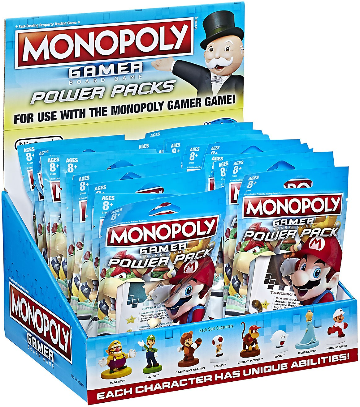 Monopoly Gamer Edition Power Mystery Box [24 Packs] by