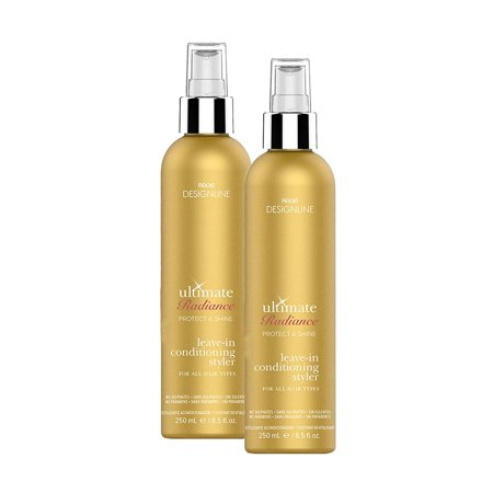 Ultimate Radiance Leave-In Conditioning Styler, 8.5 oz - Regis DESIGNLINE - Deep Conditioner Treatment that Reconstructs Damaged Hair and Repairs Split Ends (8.5 oz (2 (Regis Designline Ultimate Radiance Leave In Conditioning Styler)