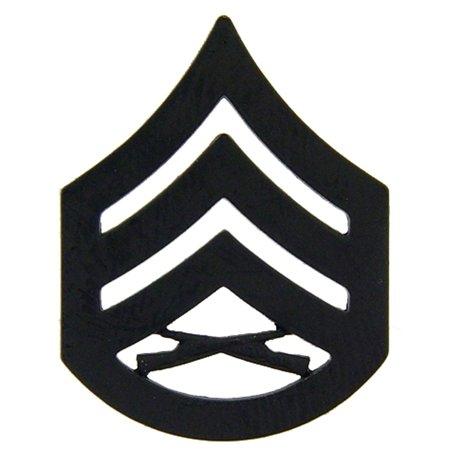 Rank Insignia (U.S.M.C. Staff Sergeant Rank Insignia Black)