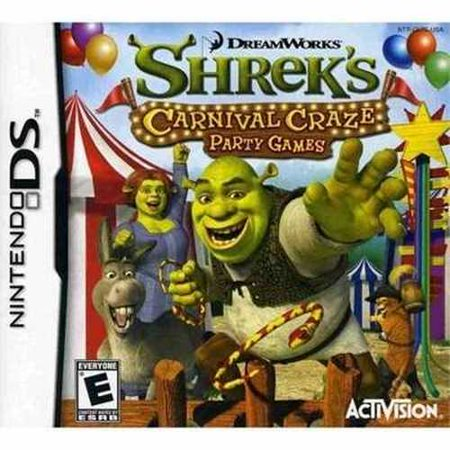 Shrek's Carnival Craze - Nintendo DS (New Carnival Games Ds)