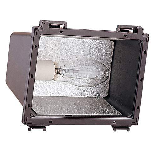 Sea Gull Lighting 86050B-10 1-Light Outdoor Flood, Bronze Finish/Clear Glass